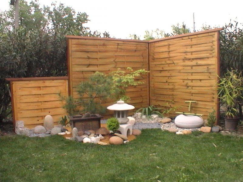 Paravent de jardin ou de terrasse de couleur noire terrasse en bois for Achat brise vue jardin